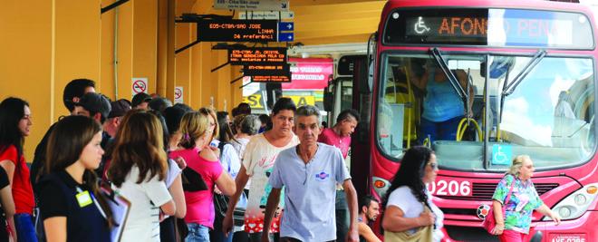 Cartão unificado facilita deslocamento de passageiros na RMC