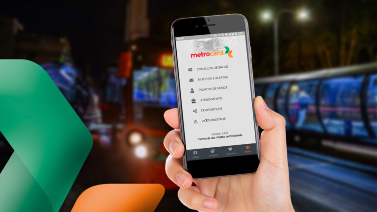 Metrocard lança novo aplicativo para passageiros
